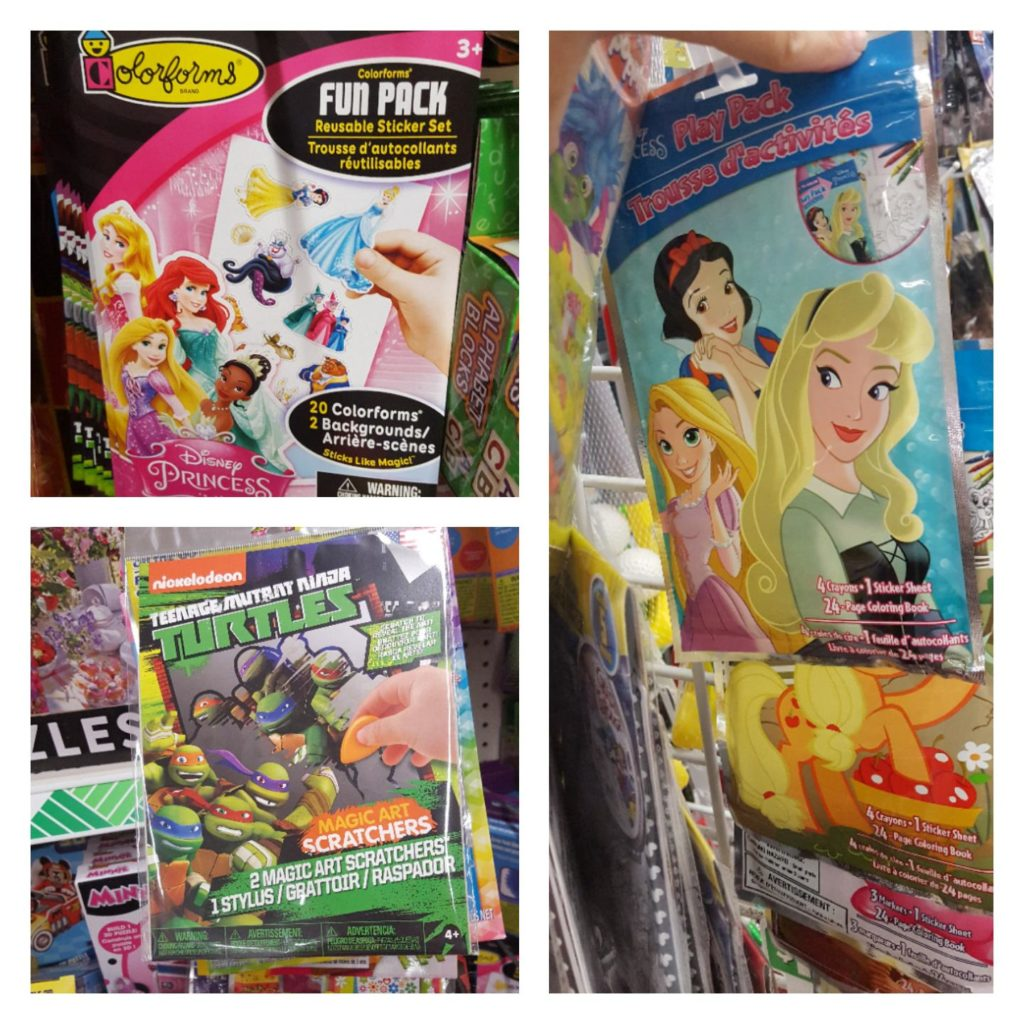 Disney activity packs from Dollar Tree, Making Disney Magic at the Dollar Tree, Dollar Tree Finds for your Disney Vacation