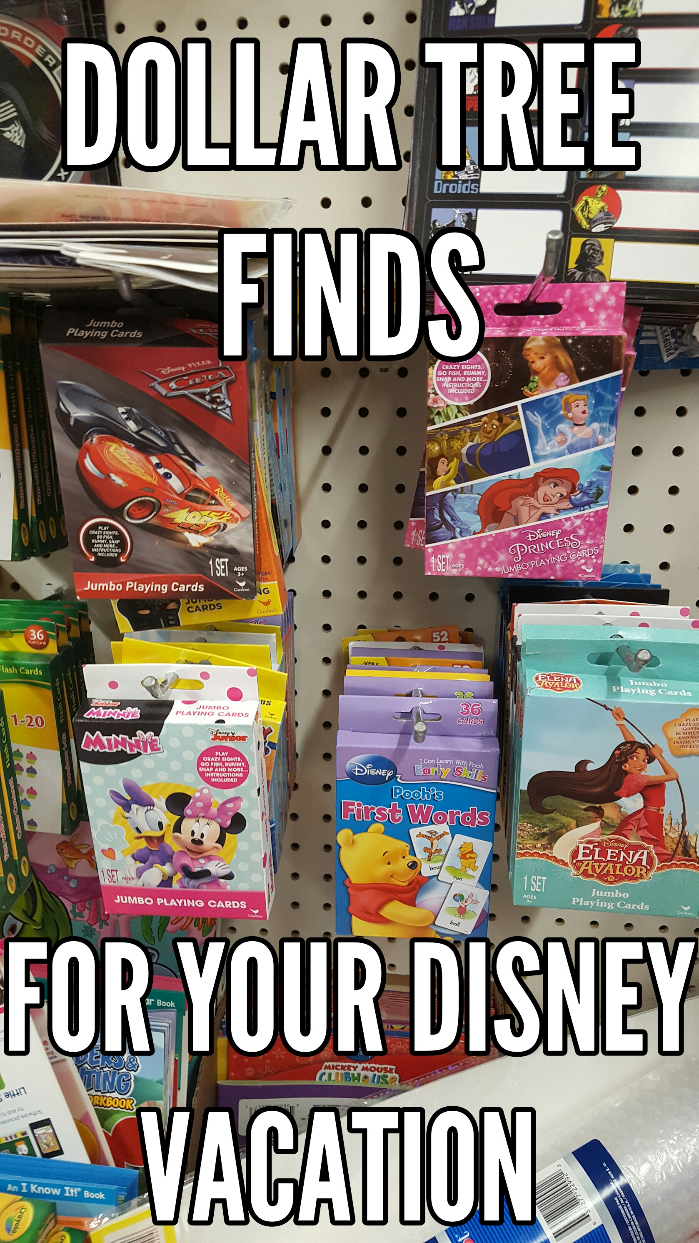 Dollar Tree Finds for your Disney Vacation, Making Disney Magic at the Dollar Tree