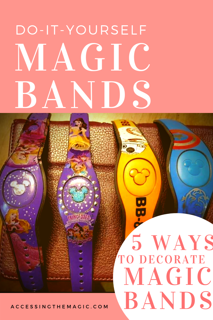 Do It Yourself Magic Band Decorating Accessing The Magic