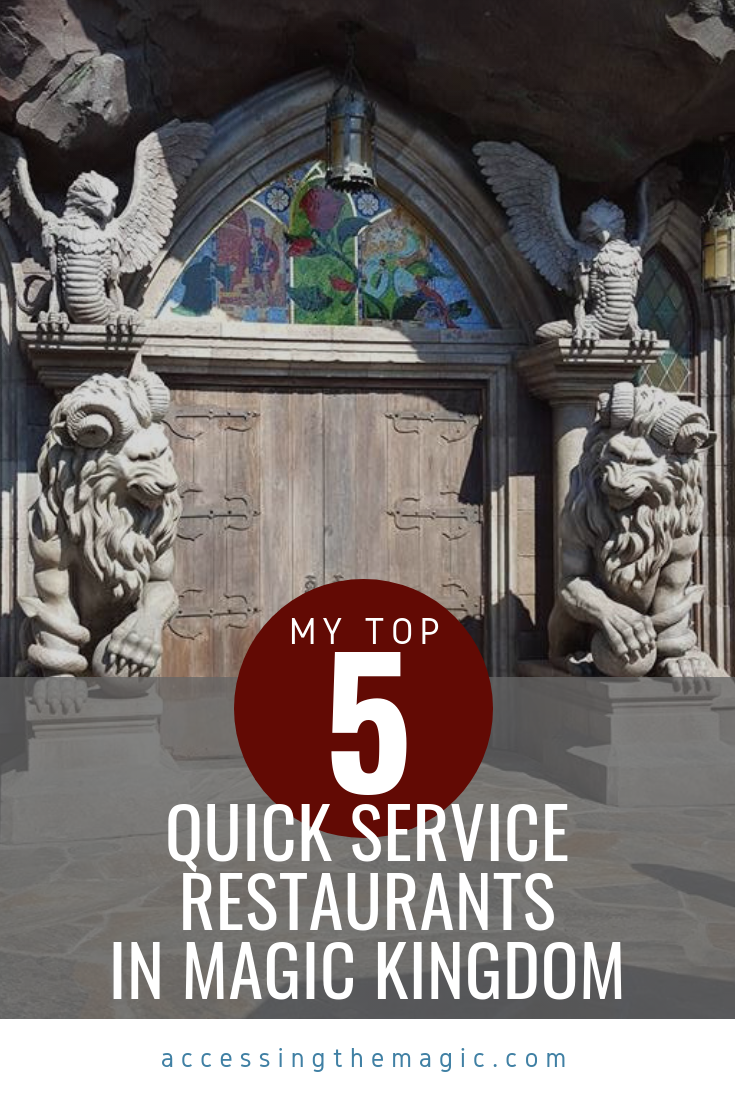 Quick service at Magic Kingdom, Disney world, dining, be our guest, quick service