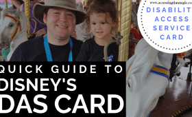 Quick Guide to Disability at Disney World